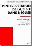Allocution de Jean Paul II sur l'interprétation de la Bible dans l'Eglise 23 Avril 1993