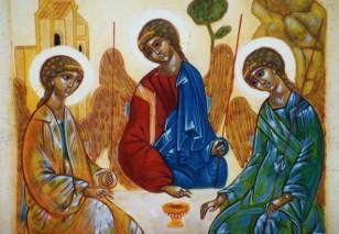La Sainte Trinité – par Francis COUSIN