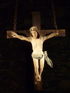 Christ, chapelle Ste Bernadette, Cité St Pierre, Lourdes