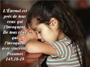 Sincérité avec Dieu