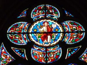 Vitrail Christ Ressuscité