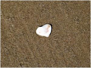 coeur blanc