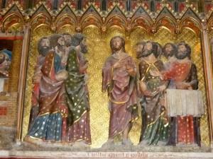Christ apparaît aux Apôtres