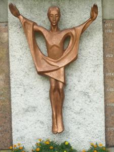 Christ ressuscité, cimetière des Pères Spiritains, Chevilly Larue