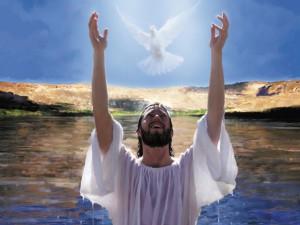 Jésus baptême st esprit