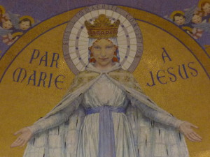 Marie Basilique du Rosaire Lourdes