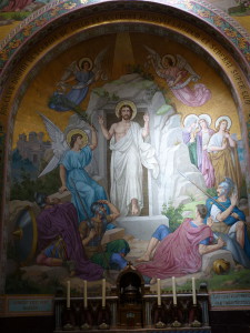 Résurrection 2, Lourdes, Basilique du Rosaire