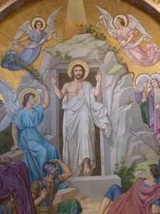 Résurrection - Lourdes Basilique du Rosaire