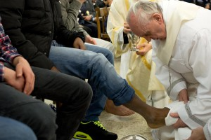 Pape lavement des pieds
