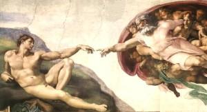 Michel-Ange-creation-d-Adam
