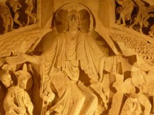 Vézelay tympan intérieur