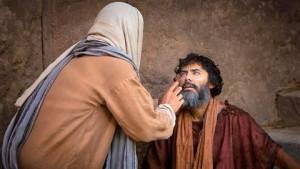 Jésus guérit un aveugle 2