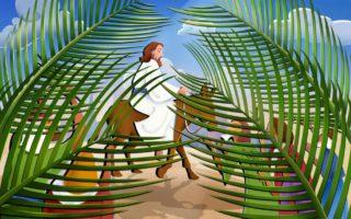 Dimanche des Rameaux et de la Passion – par Francis COUSIN