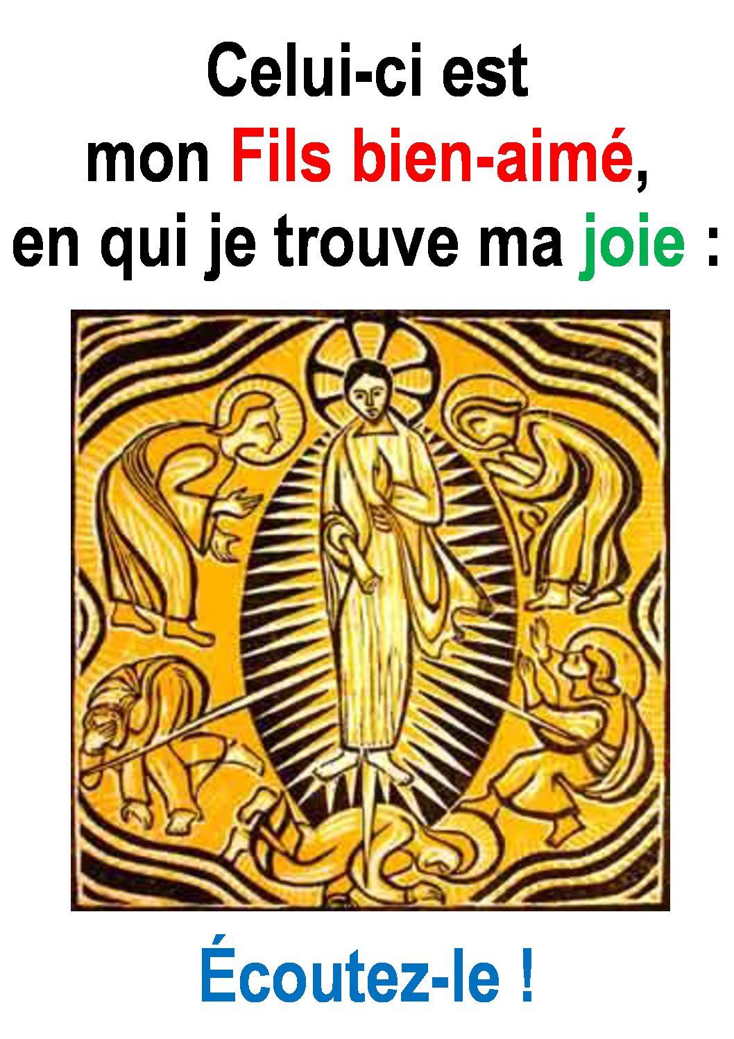 La Transfiguration par Francis Cousin