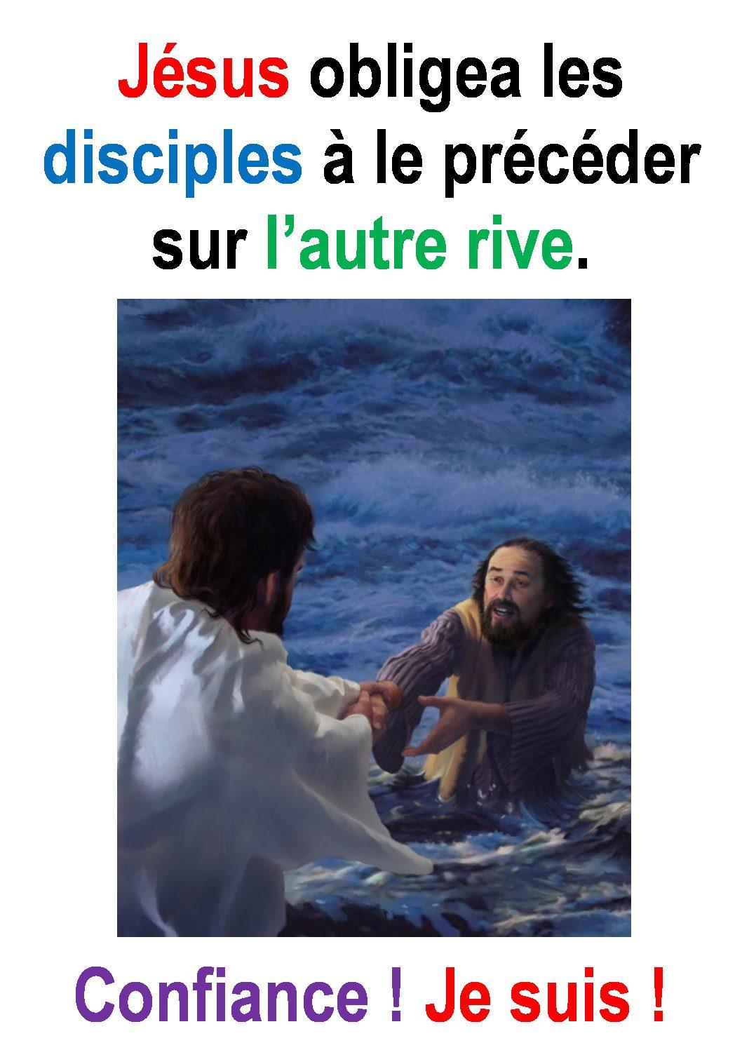 19ième Dimanche du Temps Ordinaire par Francis Cousin