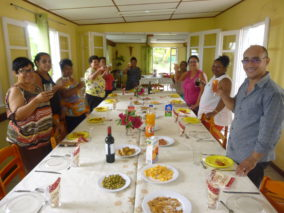 Repas de fin d'année pour le groupe «Accompagnement des Familles en Deuil»