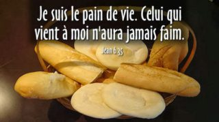 18ième Dimanche du Temps Ordinaire – par le Diacre Jacques FOURNIER (Jn 6,24-35)