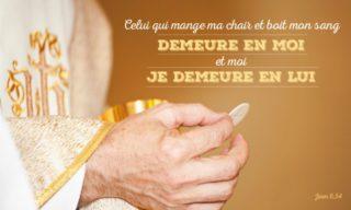 20ième Dimanche du Temps Ordinaire – par le Diacre Jacques FOURNIER (Jn 6,51-58)