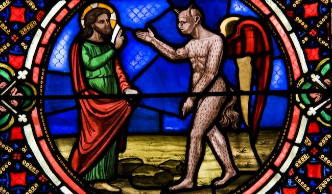 le diable se met sur le chemin de Jésus