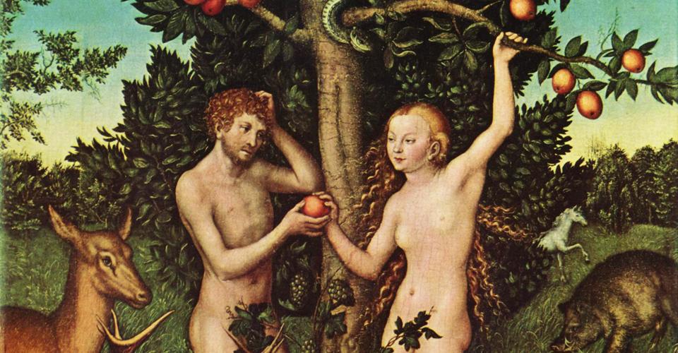 Adam et Eve-pomme