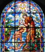 Mc 1,2-13 : La prédication de Jean-Baptiste, le baptême de Jésus.
