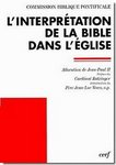 Allocution de Jean Paul II sur l'interprétation de la Bible dans l'Eglise 23 Avril 1993