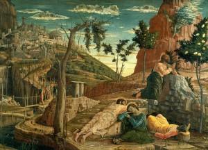 Agonie de Jésus - Andrea Mantegna