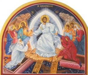 Jésus ressuscite Adam et Eve
