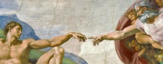 """Dieu Créateur de l'homme """"à son image et ressemblance"""" (Gn 1,1-2,7)."""