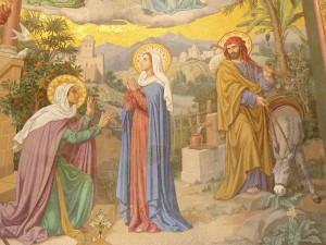 Visitation 1 Basilique du Rosaire Lourdes