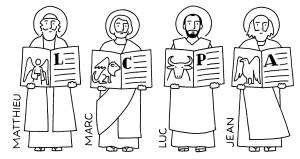 quatre évangile symbole