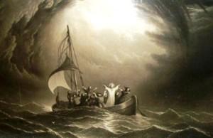 Jésus barque 2