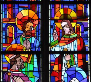 Christ donne la clé à Pierre