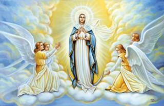 Assomption de la Vierge Marie  par P. Claude TASSIN (Spiritain)