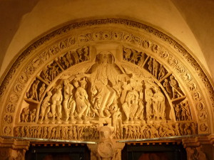 Christ en gloire. Tympan Vézelay