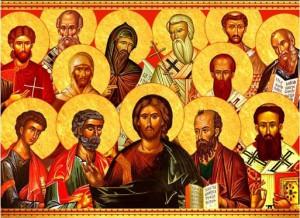 Communion des saints avec le Christ