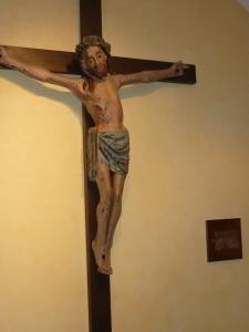 Crucifix chapelle séminaire de Rennes