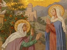 La visite de Marie à Elisabeth (Lc 1,39-45)