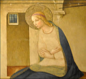 annonciation-vierge Fra Angelico