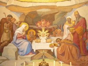 Naissance de Jésus - Lourdes - Basilique du Rosaire 2