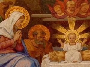 Naissance de Jésus - Lourdes - Basilique du Rosaire