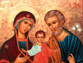 La Sainte Famille par P. Claude TASSIN (Spiritain)