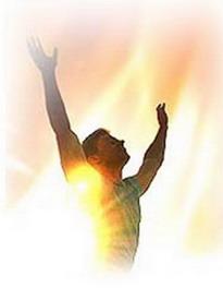homme en prière