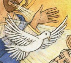 """""""Recevez l'Esprit Saint du Père des Miséricordes""""…"""