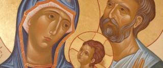 La Sainte Famille par Claude Won Fah Hin (Lc 2,22-40)