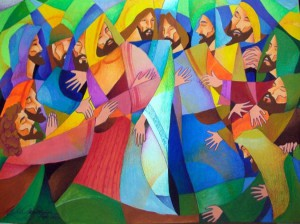 Jesus et les Douze Apôtres