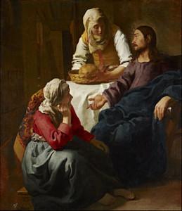 Marthe et Marie, Jean Vermeer