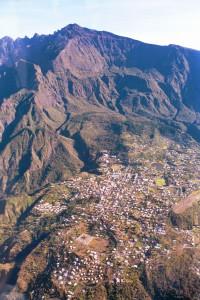 Île de la Réunion -Cilaos - Hélico
