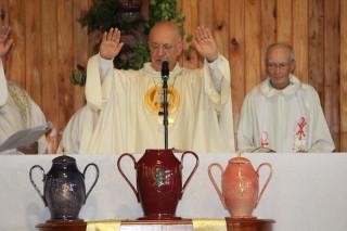 Messe Chrismale par  P. Claude Tassin (Mercredi 23 Mars)