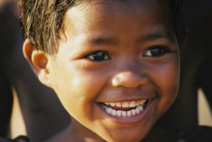 Enfant souriant